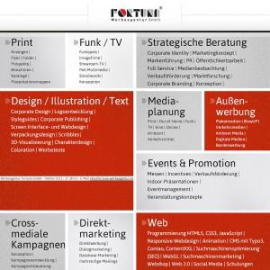 Werbeagentur Fortuna GmbH - Fullservice i Design, Text, Strategie, Print, Multimedia, Funk, Media, PR, Events