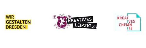 Kreatives Chemnitz, Wir gestalten Dresden, Kreatives Leipzig