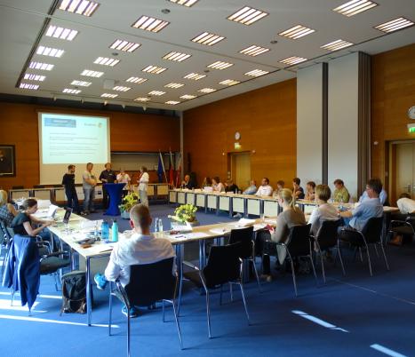 Kreatives Deutschland Podiumsrunde mit Plenum